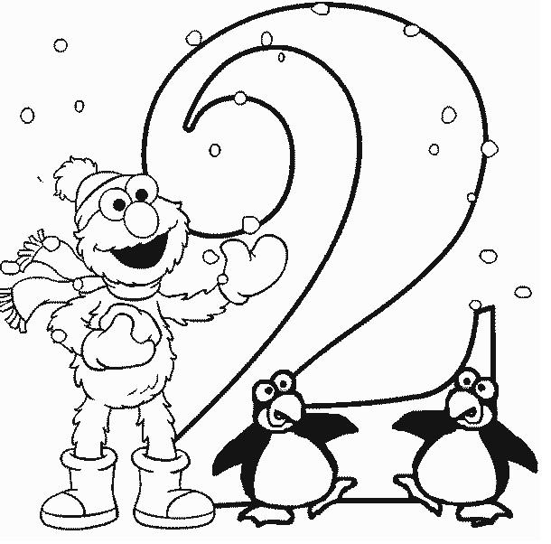 אלמו ופינגווינים יום הולדת שנתיים