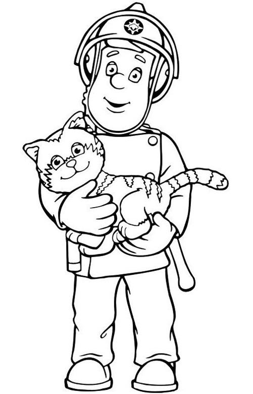 סמי הכבאי מציל חתול