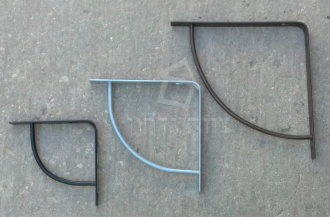 זוויות מדפים בסגנון סולידי קשת מוחצנת - צוות-גדרון